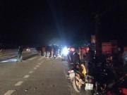 Trong đêm, xe container cán 3 học sinh 17 tuổi tử vong