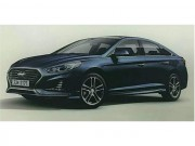 Tư vấn - Hyundai Sonata sắp ra mắt bản nâng cấp 2018