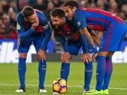 Barca âm thầm bất bại ở La Liga, Real run sợ