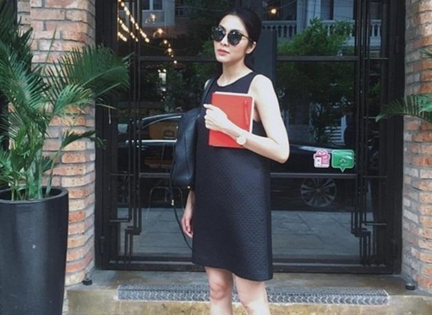 Ai nghĩ Hà Tăng sắp là mẹ 2 con khi mặc đẹp thế này! - 4