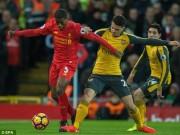 Bóng đá - Chi tiết Liverpool - Arsenal: Đòn phản công sắc lẹm (KT)