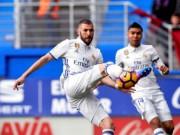 """Bóng đá - Real thắng lớn: Zidane """"quên"""" Ronaldo, tâng bốc Benzema"""