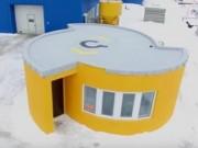 Máy in 3D giúp xây nhà giá rẻ chỉ trong 24 giờ