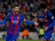 """Bóng đá - Barca thắng """"bàn tay nhỏ"""", HLV PSG e sợ Messi"""