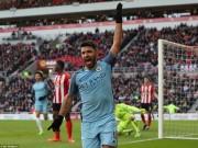 Bóng đá - Man City trở lại top 3, Aguero đi vào lịch sử NHA