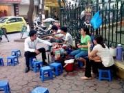 Tin tức trong ngày - Một quận trung tâm Hà Nội có 333 điểm trà đá vỉa hè