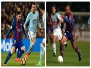 """Messi solo ghi siêu phẩm từ giữa sân: Thổn thức nhớ Ro  """" béo"""