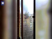 Thế giới - Lửa cháy dữ dội, cô gái Nga phi thân từ tầng 8 xuống đất