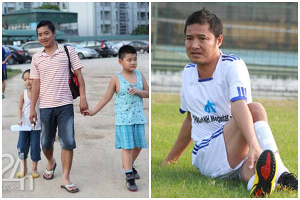 Danh thủ Nguyễn Hồng Sơn khi không mặc áo số, quần đùi - 4