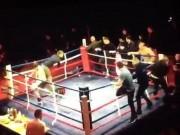 """Thể thao - MMA: Hỗn chiến 20 người, gậy, gạch, đá """"bay như mưa"""""""