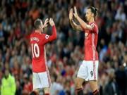 """Bóng đá - MU: Ibra bị treo giò 3 trận, Rooney """"đục nước béo cò"""""""