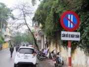 Tin tức trong ngày - Thêm tuyến phố HN thực hiện đỗ xe theo ngày chẵn-lẻ