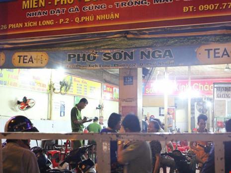 """Nghi can chém CA tại quán phở là """"đại ca"""" ở Phú Nhuận"""