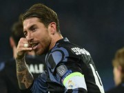 """Bóng đá - Real: Ramos ăn mừng kiểu """"gọi điện"""", """"đá xoáy"""" Messi"""