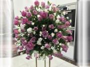 Bạn trẻ - Cuộc sống - Học bà mẹ Hà thành cắm hoa cực đẹp cho ngày 8/3
