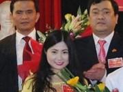 """Thanh Hóa thông tin vụ bổ nhiệm  """" thần tốc """"  bà Trần Vũ Quỳnh Anh"""