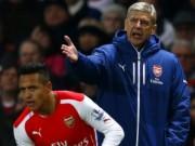 """Arsenal - Wenger thua thảm  & amp; những  """" vết nhơ """"  khó gột"""