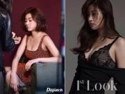 Thời trang - Bạn gái Huyn Bin lộ ảnh hậu trường thời trang bốc lửa