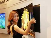Thời trang Hi-tech - LG trình làng TV OLED dán tường siêu mỏng