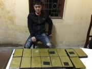 """An ninh Xã hội - """"Trùm"""" ma túy dùng vũ khí áp tải 15 bánh heroin về HN"""