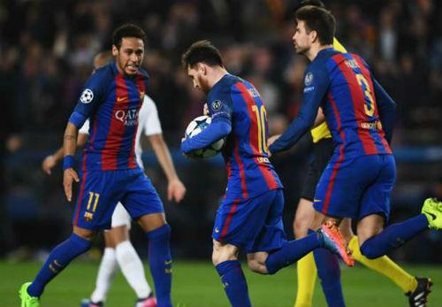 Thuyết âm mưu: Barca đổi Messi lấy vé tứ kết Cúp C1 - 2