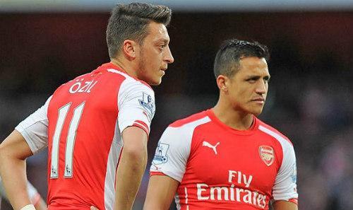 """SAO Arsenal tháo chạy: Ozil, Sanchez """"bay"""" đầu tiên"""
