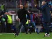 Barca tạo lịch sử: Enrique điềm đạm khó tin, PSG đổ lỗi trọng tài