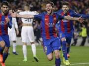 """Nghẹt thở:  """" Cơn điên """"  của Barca, bi kịch số 1 PSG"""