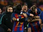 Barca tạo lịch sử: Ứng viên số 1 vô địch Champions League