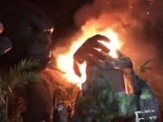 Phim - Cháy rụi sân khấu ra mắt bom tấn Kong ở TPHCM
