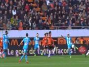 """Bàn thắng đẹp V28 Ligue 1:  """" Tiểu Zidane """"  vẽ kiệt tác"""