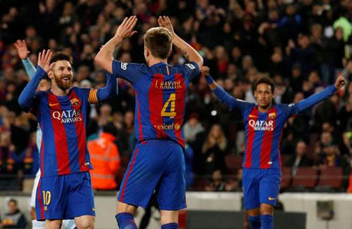 La Liga trước V27: Sau địa chấn Cup C1, Barca tiếp mồi ngon - 1