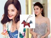 """Cận cảnh những  """" con ngựa siêu đắt đỏ """"  của Huyền My, Miu Lê"""
