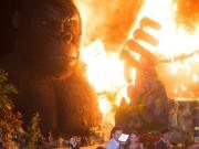 """Phim - Sân khấu """"Kong"""" 1 tỷ cháy rụi, sao Việt hoảng hốt, BTC nói gì?"""