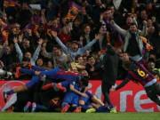 Quá sung sướng, Barca gây địa chấn ở Nou Camp