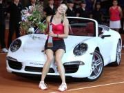 """Sharapova sắp  """" rũ lụa """"  trên sân: Mỹ nhân bị tố lừa đảo"""
