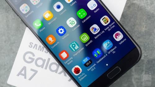 """Đánh giá samsung A7 (2017): smartphone tầm trung pin """"trâu"""" - 178267"""