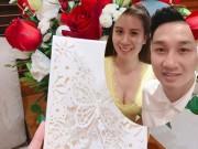 Phim - Lộ thiệp cưới cầu kỳ của MC Thành Trung và bạn gái 9x