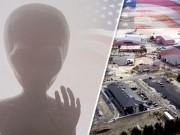 Phi thường - kỳ quặc - Người ngoài hành tinh bị bắn hạ ở căn cứ không quân Mỹ?