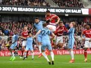 Chi tiết Middlesbrough - Man City: Tình thế an bài (KT)