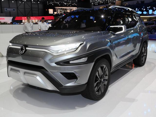 Ssangyong XAVL sở hữu thiết kế đậm chất crossover tại triển lãm Geneva