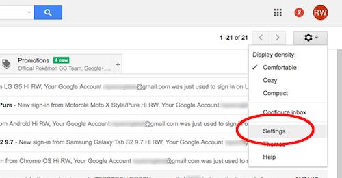 Cách tạo nội dung email mẫu để trả lời nhanh - 2