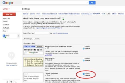 Cách tạo nội dung email mẫu để trả lời nhanh - 3