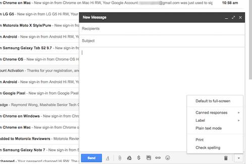 Cách tạo nội dung email mẫu để trả lời nhanh - 5