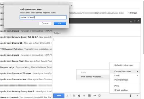 Cách tạo nội dung email mẫu để trả lời nhanh - 6