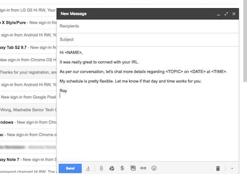 Cách tạo nội dung email mẫu để trả lời nhanh - 7