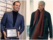 """Cuộc  """" tỉ thí """"  thời trang của HLV Arsenal và Juventus"""