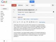 Cách tạo nội dung email mẫu để trả lời nhanh