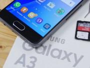 Video: Đập hộp Samsung Galaxy A3 (2017)