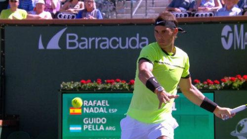 Nadal – Pella: Chọn thời điểm ra đòn (V2 Indian Wells)